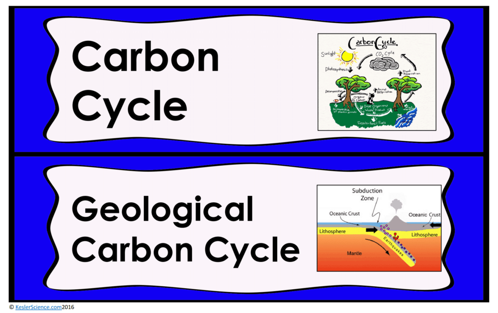 CARBON CYCLE LESSON PLAN - A COMPLETE SCIENCE LESSON USING ...